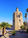 Torre del Oro in Seville, Spain Stock Photo