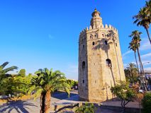 Torre del Oro in Seville, Spain Stock Photography