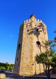 Torre del Oro in Seville, Spain. Torre del Oro - The Gold Tower in Seville, Andalusia, Spain stock photos