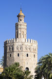 Torre del Oro. (Tower of Gold) in Sevilla, Spain Royalty Free Stock Photos