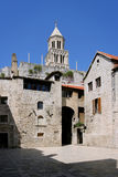 Torre del palacio de Diocletian Fotografía de archivo libre de regalías