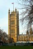 Torre del palacio de Westminster Foto de archivo libre de regalías