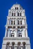 Torre del palazzo di Diocleziano nella spaccatura Fotografia Stock