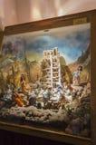 Torre del panorama de Babel muñecas fotografía de archivo
