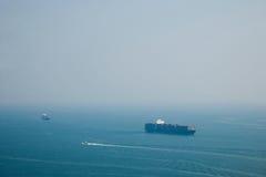 Torre del parco dell'oceano del parco dell'oceano che trascura il mare della Cina Meridionale sulla nave storica Fotografie Stock Libere da Diritti