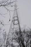 Torre del parco TV di Camlica Fotografia Stock Libera da Diritti