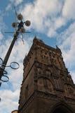 Torre del polvo en Praga Foto de archivo libre de regalías