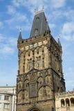Torre del polvo en Praga Imagenes de archivo