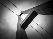 Torre del ponte Fotografia Stock