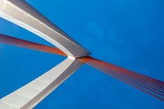 Torre del ponte di qianshimen di Chongqing fotografie stock libere da diritti