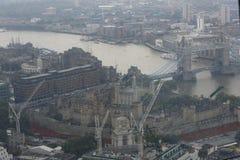Torre del ponte Londra della torre e di Londra Fotografie Stock Libere da Diritti