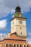 Torre del portone in Brasov, Romania fotografia stock libera da diritti