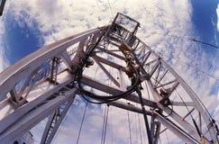 Torre del pozzo di petrolio Immagini Stock