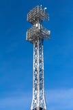 Torre del proiettore Immagini Stock