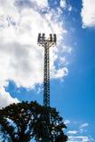 Torre del proyector fotos de archivo libres de regalías