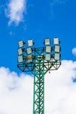 Torre del proyector imagen de archivo libre de regalías