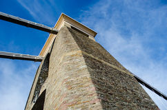 Torre del puente Imágenes de archivo libres de regalías