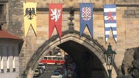 Torre del puente cerca del puente de ChaRTes, Praga metrajes