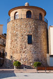 Torre del puerto de Cambrils Foto de archivo
