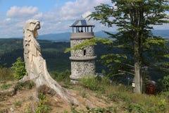Torre del puesto de observación foto de archivo