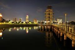Torre del puesto de observación Fotos de archivo libres de regalías