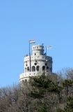 Torre del puesto de observación de las colinas de Janos Fotos de archivo