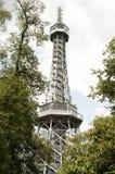 Torre del puesto de observación de Petrin, Praga - República Checa Fotos de archivo