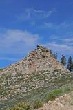 Torre del puesto de observación del fuego Imagenes de archivo