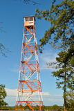Torre del puesto de observación del fuego Fotos de archivo