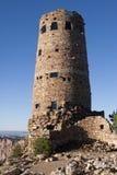 Torre del puesto de observación en la barranca Imagen de archivo libre de regalías