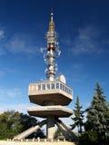Torre del puesto de observación en Miskolc, Hungría Imagenes de archivo