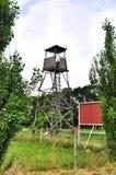 Torre del puesto de observación para cazar Fotografía de archivo