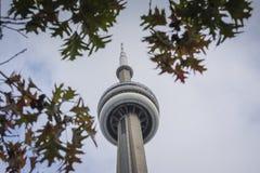 Torre del punto di riferimento di Toronto Fotografia Stock