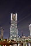 Torre del punto di riferimento a Yokohama, Giappone Fotografia Stock