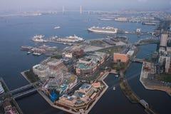 Torre del punto di riferimento, Yokohama Giappone, Minato Mirai Immagini Stock Libere da Diritti