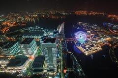 Torre del punto di riferimento, Yokohama Giappone, Minato Mirai Fotografia Stock