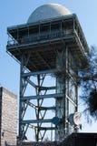 Torre del radar Imagen de archivo libre de regalías