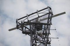 Torre del radar all'estremità della città Quay Southampton Fotografia Stock
