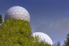 Torre del radar del espía Imágenes de archivo libres de regalías