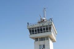 Torre del radar del puerto Imagen de archivo libre de regalías