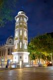 Torre del reloj瓜亚基尔,厄瓜多尔Malecon 2000年 图库摄影