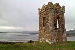 Torre del reloj del irlandés Fotos de archivo libres de regalías