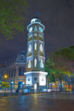 Torre del reloj Guayaquil, Equateur Malecon 2000 Photo stock