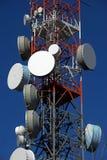 Torre del repetidor Foto de archivo libre de regalías