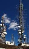 Torre del repetidor Foto de archivo