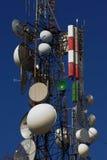 Torre del repetidor Imagenes de archivo