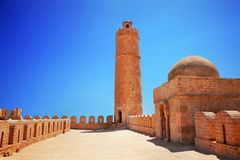 Torre del Ribat en Sousse Fotos de archivo