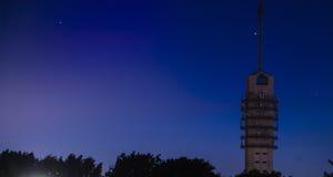 Torre del ripetitore fotografie stock