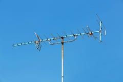 Torre del ripetitore dell'antenna immagine stock libera da diritti