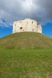 Torre del ` s de Clifford, York Imagen de archivo